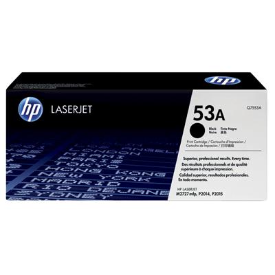HP Lasertoner Q7553A Nr. 53A