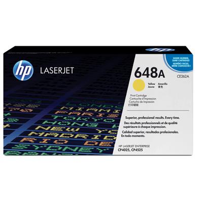 HP Lasertoner CE262A Nr. 648A