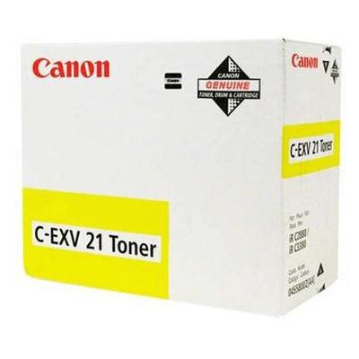 Canon Lasertoner CEXV 21Y