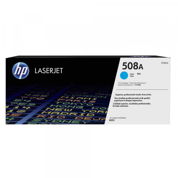HP Lasertoner CF361A Nr. 508A