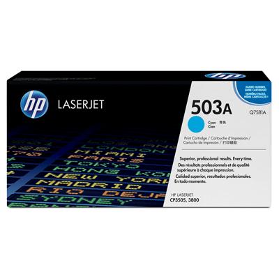 HP Lasertoner Q7581A Nr. 503A
