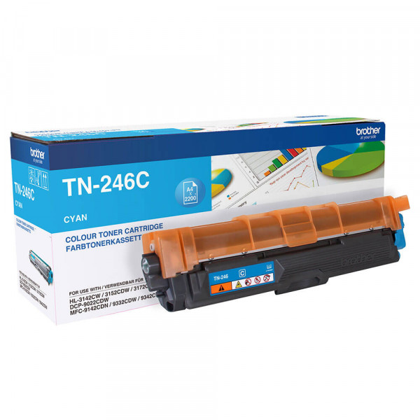 Brother Lasertoner TN-246C