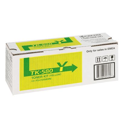 Kyocera Lasertoner TK-580Y