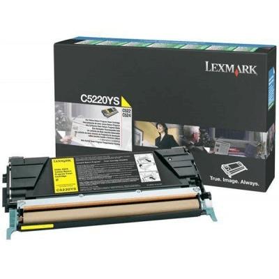 Lexmark Lasertoner C5220YS
