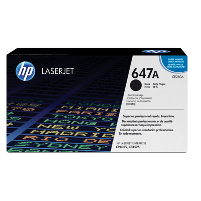 HP Lasertoner CE260A Nr. 647A