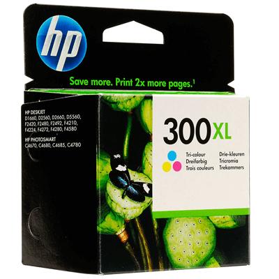HP Tintenpatrone CC644EE Nr. 300XL
