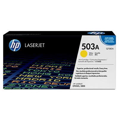 HP Lasertoner Q7582A Nr. 503A