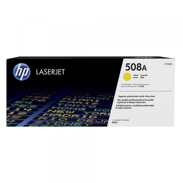 HP Lasertoner CF362A Nr. 508A