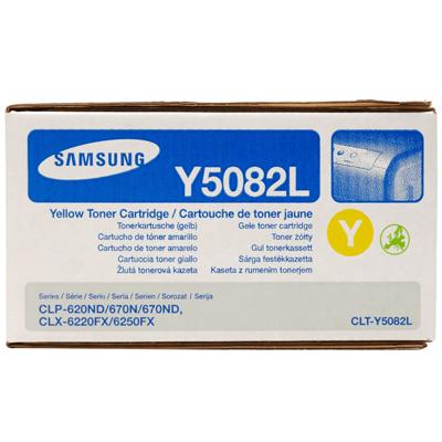 Samsung Lasertoner CLT-Y5082L
