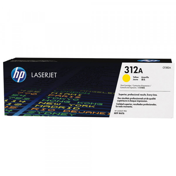HP Lasertoner CF382A Nr. 312A