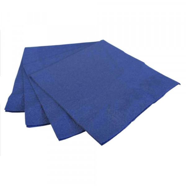 Servietten Duni 33x33cm blau