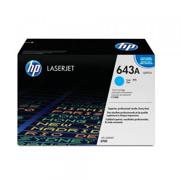 HP Lasertoner Q5951A Nr. 643A