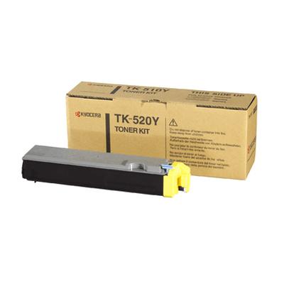 Kyocera Lasertoner TK-520Y