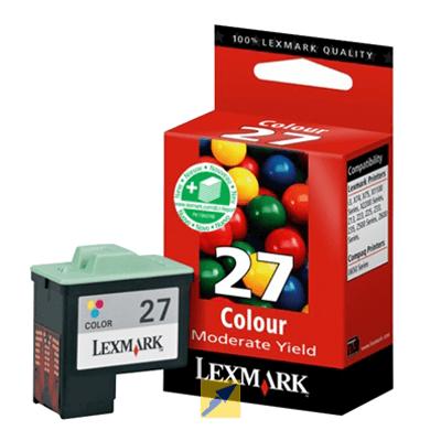Lexmark Tintenpatrone 10NX227E Nr. 27